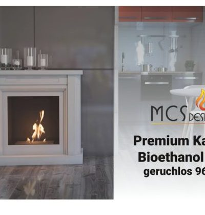 Bioethanol 8 x 1,9 Flasche