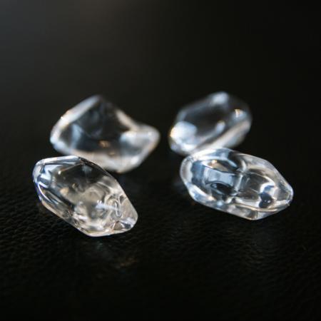 Glassteine transparent
