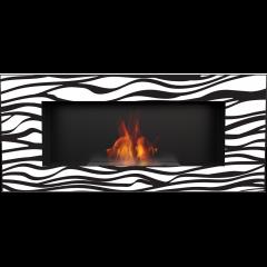 Delta 2 schwarz Zebra