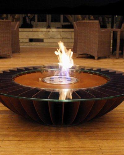 Bioethanol Feuertisch Cosmo von Glammfire