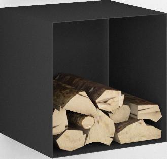 Holzregale von Cube Pure Stone