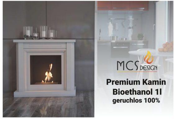 Bioethanol 6 od. 12 x 1 Liter im Karton