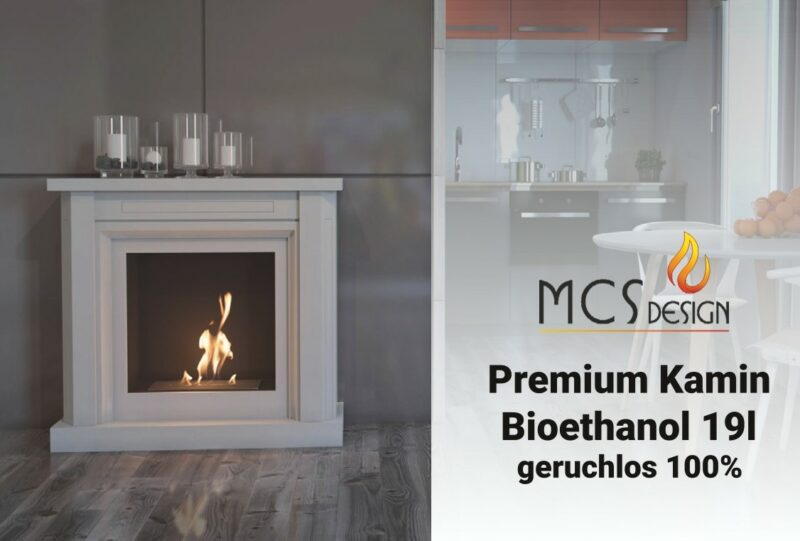 19l. Bioethanol 100% im Kanister
