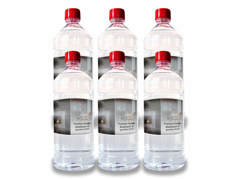MCS Design 1l. Bioethanol 96,6% premium geruchlos