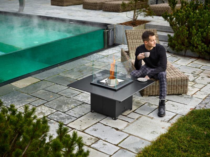 Pelmondo Cube Pellet Terrassenheizung