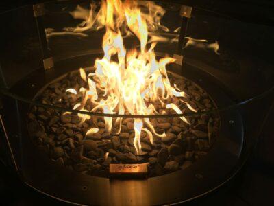 GlammFire Gas-Brenner Rund