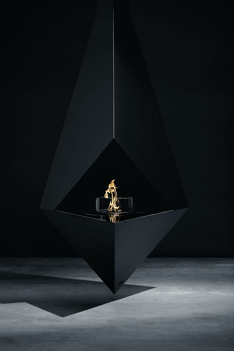 GlammFire Phythagoras Deckenkamin